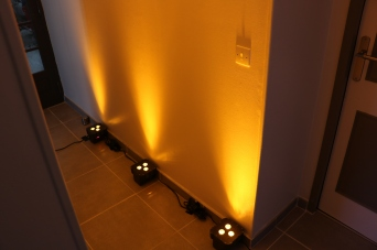 Par led couleur Ambre