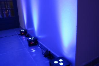 Par led couleur Bleu