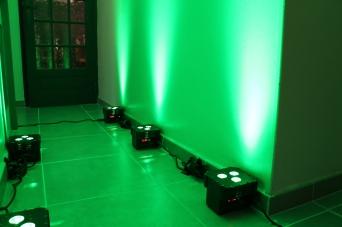 Par led couleur Vert