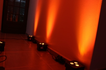 Par led couleur Orange
